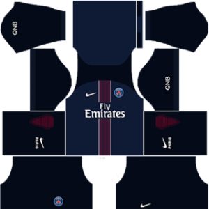 Paris Saint-Germain (PSG) Kits 2016-2017 Dream League Soccer