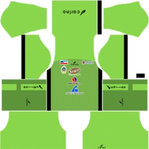 Sabah FA DLS 2017-2018 Goalkeeper Home Kit