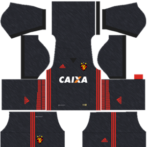 Sport Recife DLS 2017-2018 Away Kit