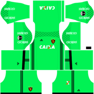 Sport Recife DLS 2017-2018 Goalkeeper Home Kit