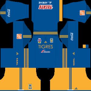 Tigres UANL DLS 2017-2018 Away Kit