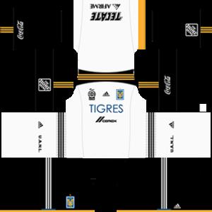 Tigres UANL DLS 2017-2018 Goalkeeper Kit