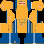 Tigres UANL Kits 2017/2018 Dream League Soccer