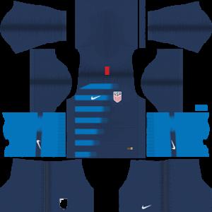 USA 2018-19 DLS Away Kit