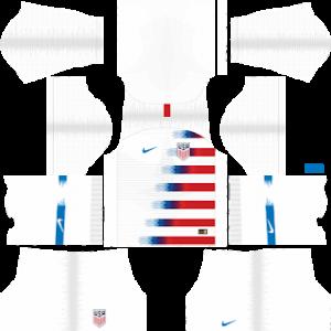 USA Kits 2018-2019 Dream League Soccer