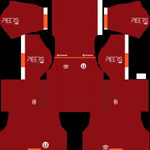Universitario DLS 2017-2018 Away Kit