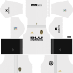Valencia Kits 2018/2019 Dream League Soccer