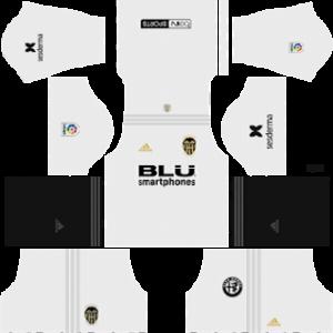 Valencia Kits 2018/2019 Dream League Soccer