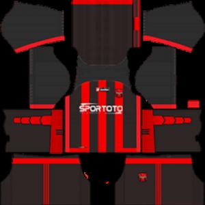 Yozgatspor Kits 2017-2018 Dream League Soccer