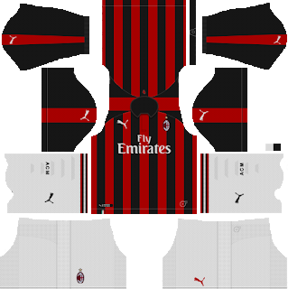 Ac Milan Kits 2018 2019 Dream League Soccer