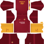 AS Roma Kits 2018/2019 Dream League Soccer