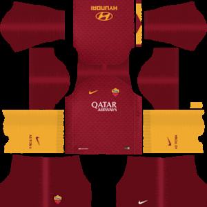AS Roma Kits 2018/2019 Dream League Soccer