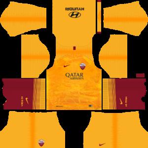 as roma third kit 2018-2019 dream league soccer