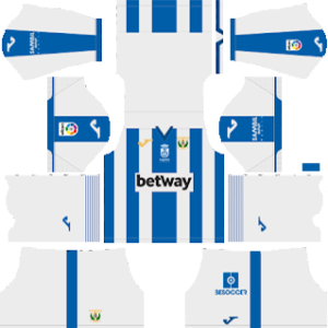 CD Leganes Kits 2018/2019 Dream League Soccer