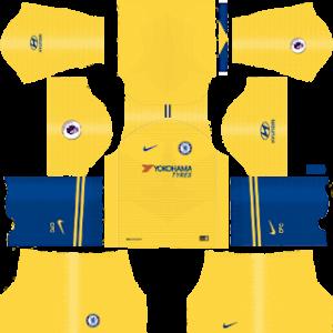 chelsea away kit 2018-2019 dream league soccer