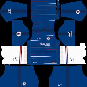 Chelsea Kits 2018/2019 Dream League Soccer