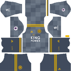 leicester city away kit 2018-2019 dream league soccer