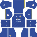 Leicester City FC Kits 2018/2019 Dream League Soccer