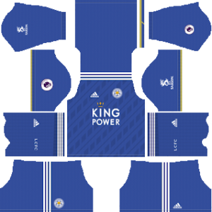 Leicester City FC Kits 2018/2019 Dream League Soccer