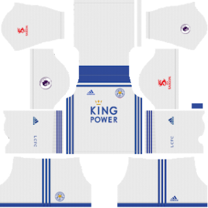 leicester city third kit 2018-2019 dream league soccer