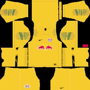RB leipzig goalkeeper away kit 2018-2019 dream league soccer