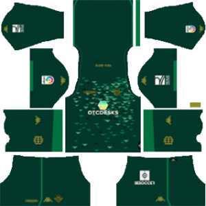 real betis away kit 2018-2019 dream league soccer