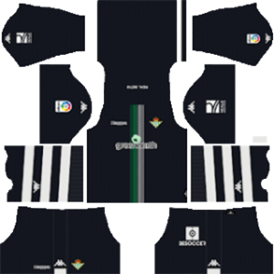 real betis goalkeeper home kit 2018-2019 dream league soccer