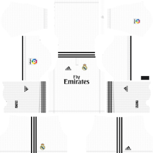 Real Madrid Kits 2018/2019 Dream League Soccer