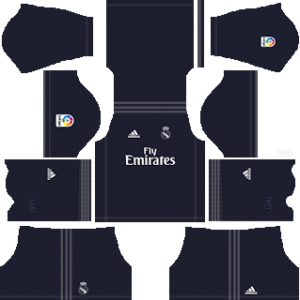 real madrid away kit 2018-2019 dream league soccer