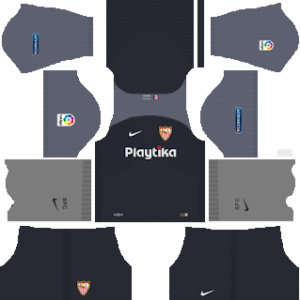 sevilla third kit 2018-2019 dream league soccer