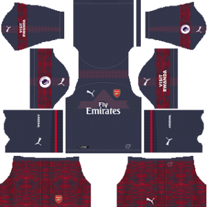 arsenal away kit 2018-2019 dream league soccer