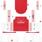 arsenal home kit 2018-2019 dream league soccer
