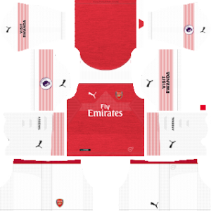 Arsenal Kits 2018/2019 Dream League Soccer