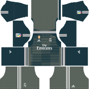 real madrid goalkeeper third kit 2018-2019 dream league soccer