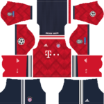 Bayern Munich UCL Kits 2018/2019 Dream League Soccer
