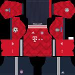 Bayern Munich UCL Kits 2018/2019 Dream League Soccer