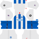 Brighton & Hove Albion F.C. Kits 2018/2019 Dream League Soccer