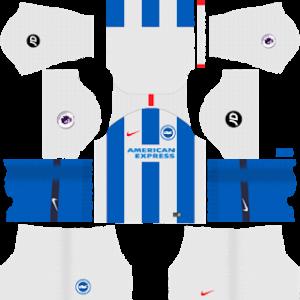 Brighton & Hove Albion F.C. Kits 2018/2019 Dream League Soccer