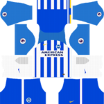 Brighton & Hove Albion F.C. Kits 2017-2018 Dream League Soccer