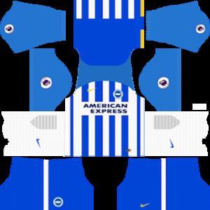 Brighton & Hove Albion F.C. Kits 2017-2018 Dream League Soccer