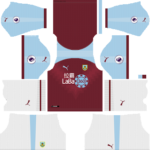 Burnley F.C. Kits 2018/2019 Dream League Soccer
