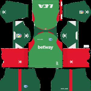 alaves away kit 2018-2019 dream league soccer