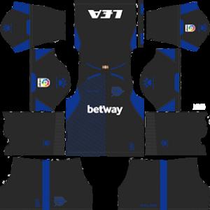 alaves goalkeeper third kit 2018-2019 dream league soccer
