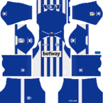 Deportivo Alavés Kits 2018/2019 Dream League Soccer