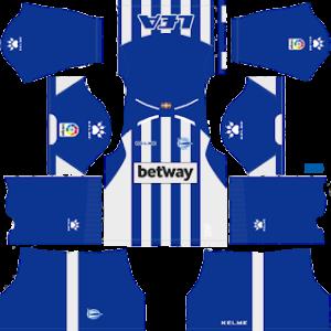 Deportivo Alavés Kits 2018/2019 Dream League Soccer