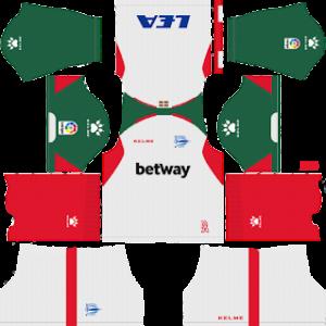 alaves third kit 2018-2019 dream league soccer