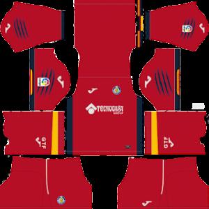 getafe away kit 2018-2019 dream league soccer