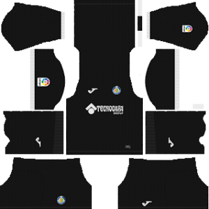 getafe goalkeeper home kit 2018-2019 dream league soccer