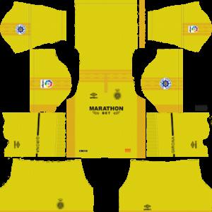 girona away kit 2018-2019 dream league soccer