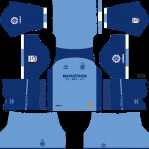girona third kit 2018-2019 dream league soccer